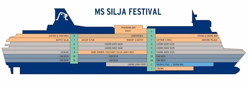 паром Silja Festival