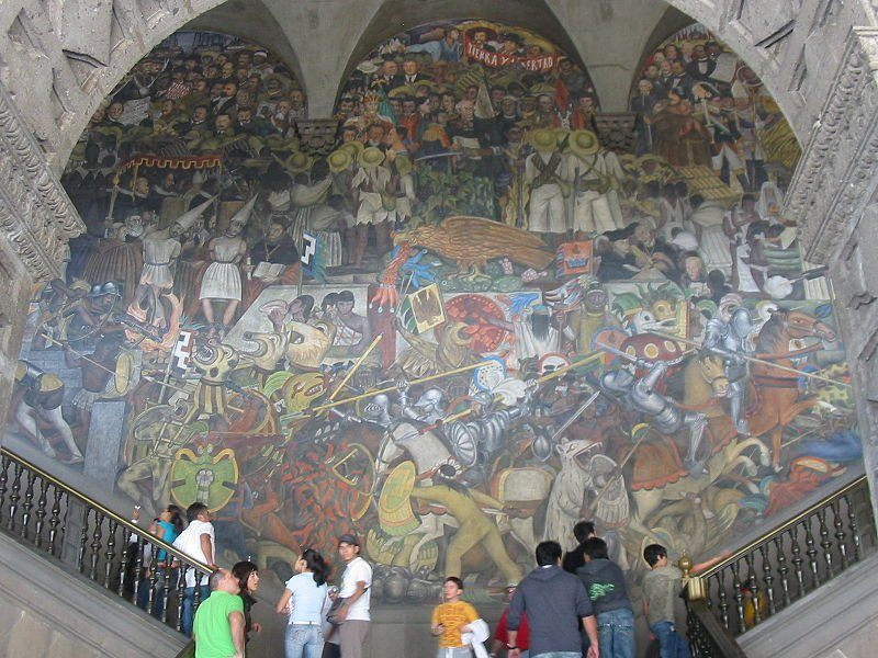 the ancient mexican muralism artwork What do calaveras represent in mexican art mexican muralism: calavera catrina i'd like to talk about an artwork related to the calaveras subject.