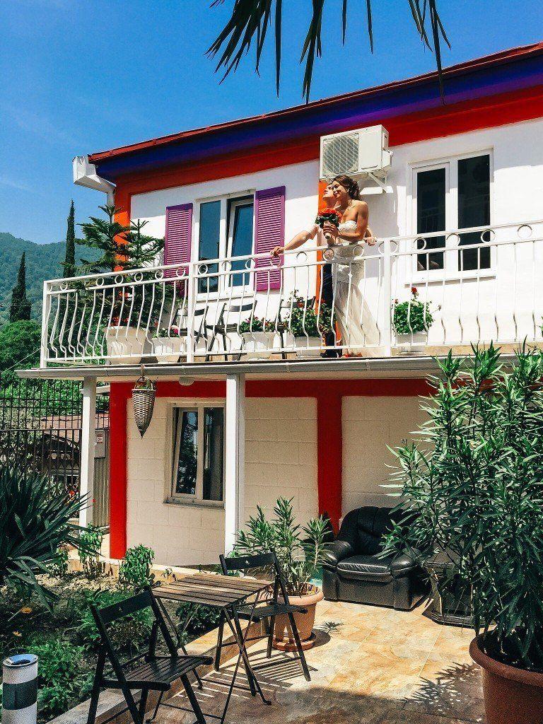 Дом на берегу моря в Афон