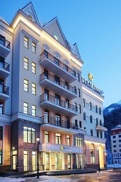 TULIP INN ROSA KHUTOR, отель. Фото -1